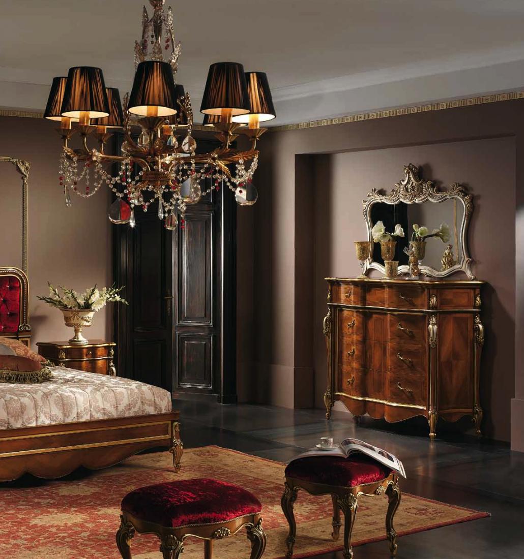 Com fianco sagomato in noce mobili in stile linea - Mobili in stile barocco ...