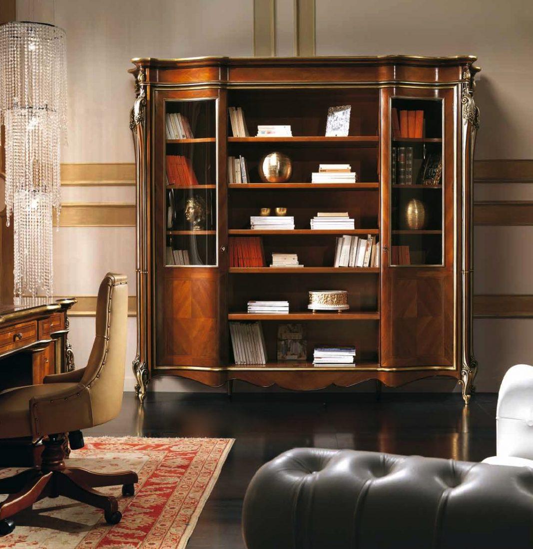 Libreria 2 porte in noce antiquariato e mobili in stile for Outlet mobili verona