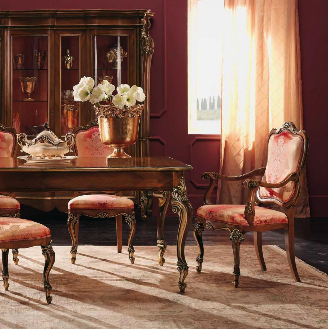 Capotavola mobili in stile linea intagliata barocco - Mobili in stile barocco ...