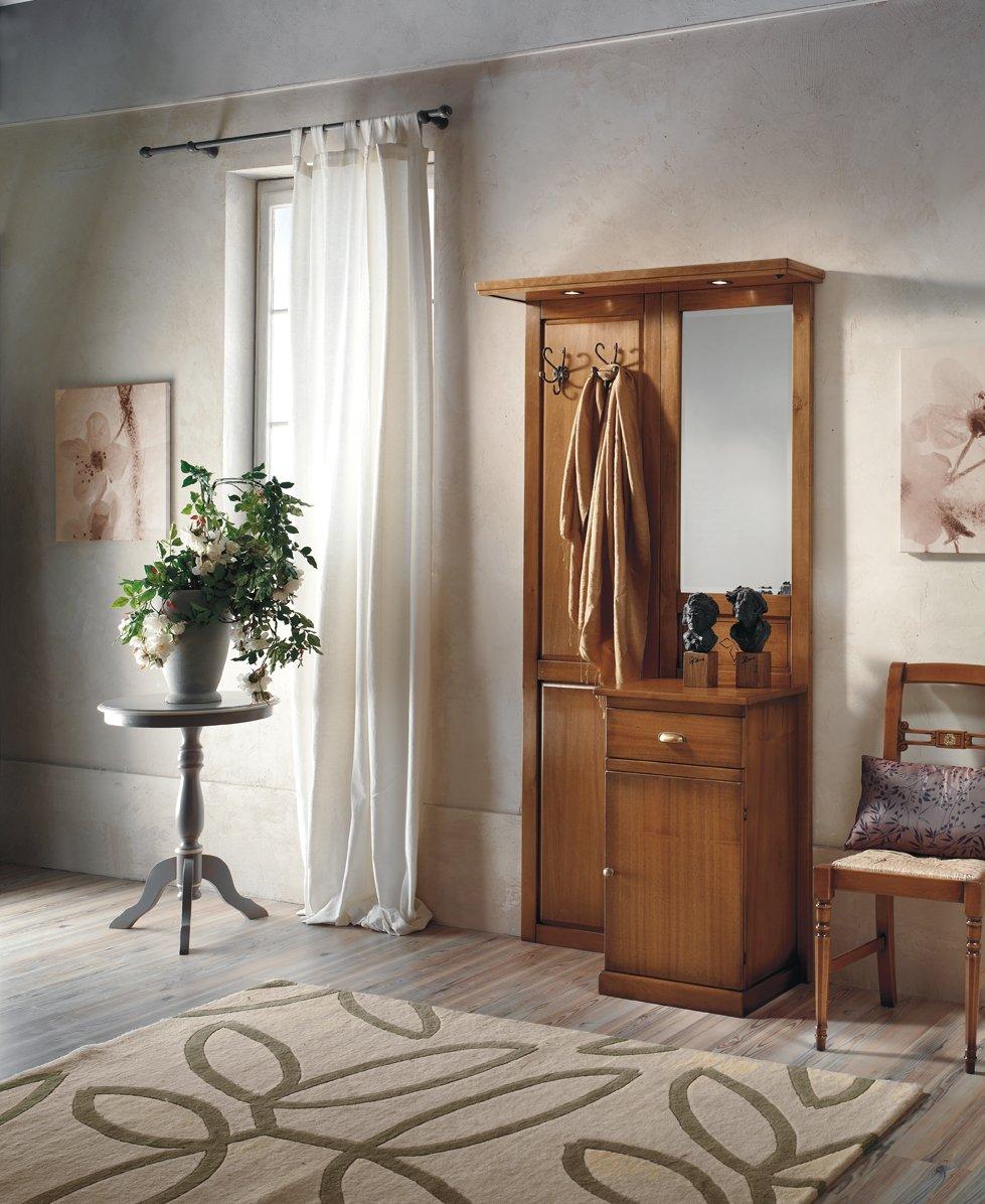 Appendiabiti 1 anta e 1 cassetto mobili in stile linea - La maison mobili ...