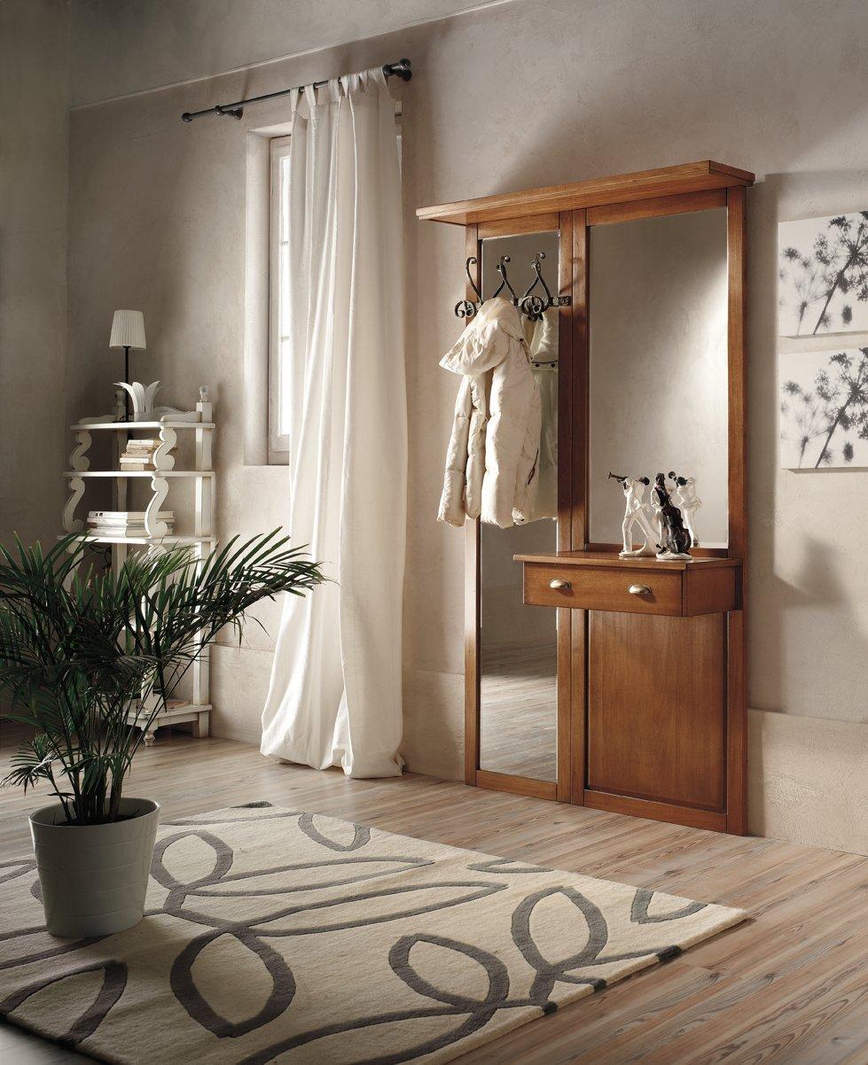 Appendiabiti con cassetto mobili in stile linea la maison - La maison mobili ...