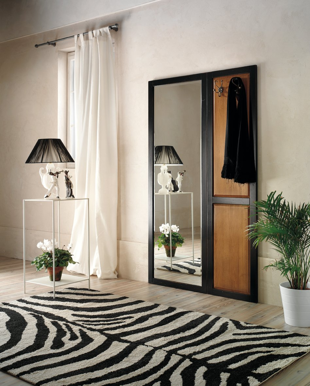 Appendiabiti con specchio mobili in stile linea la maison - La maison mobili ...