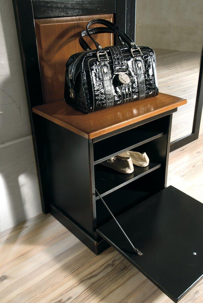 Appendiabiti con specchio e ribalta mobili in stile - La maison mobili ...