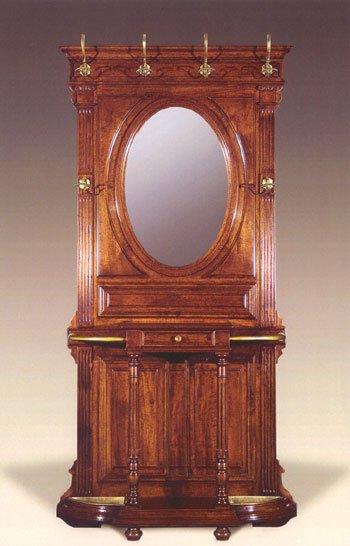 Appendiabiti francese in noce massiccio antiquariato e mobili in stile chiaramonte verona - Mobili in stile francese ...