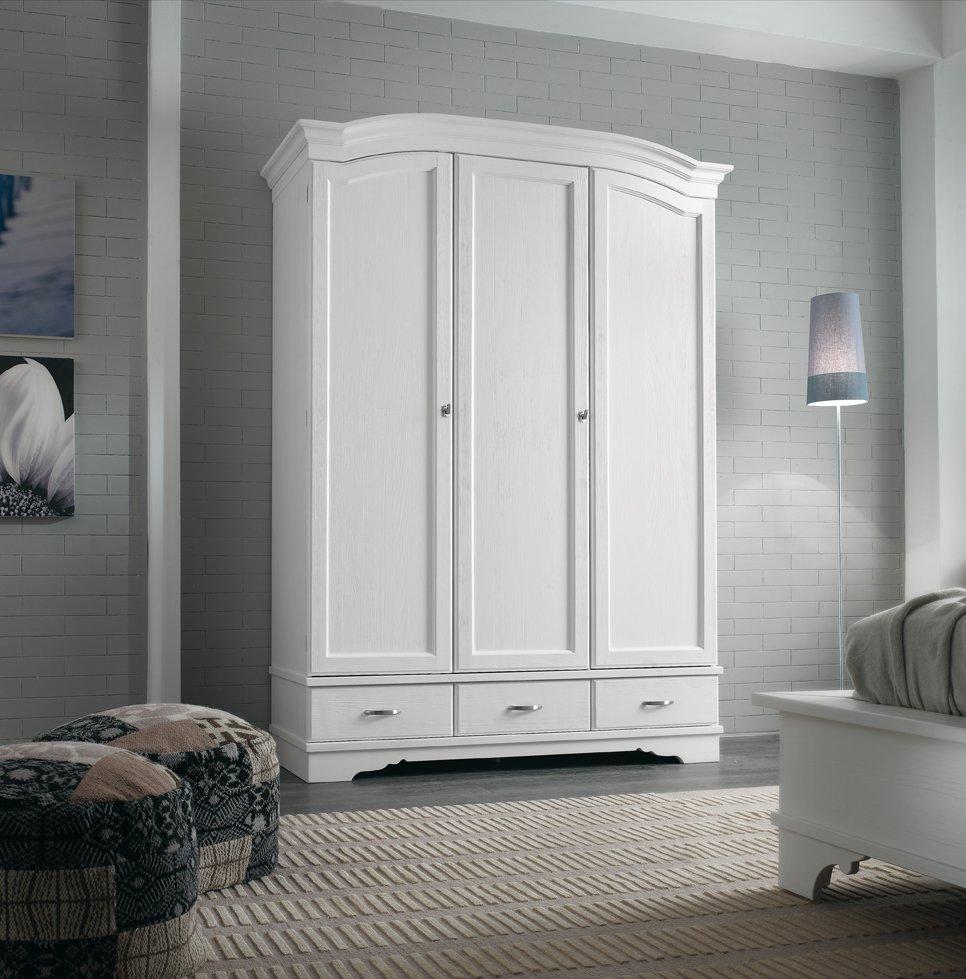 Armadio 3 ante e 3 cassetti mobili in stile linea la maison - La maison mobili ...