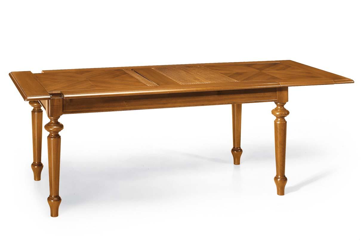 Tavolo persiana placcato listellare mobili in stile - Mobili a persiana ...
