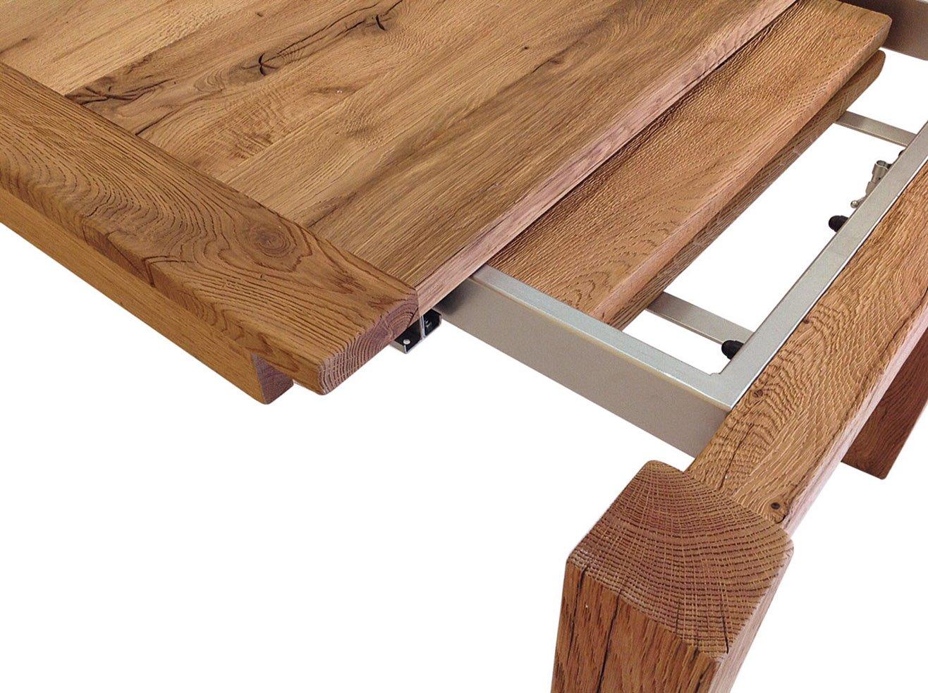 Tavolo allungabile massello moderno - Tavolo moderno sedie antiche ...
