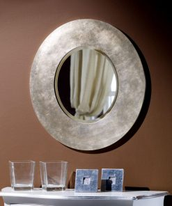 art. 9.0052-B-A Specchiera in foglia argento patinato