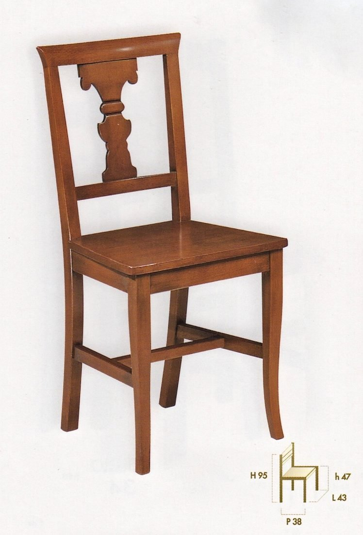 Sedia silene antiquariato e mobili in stile chiaramonte for Outlet mobili verona