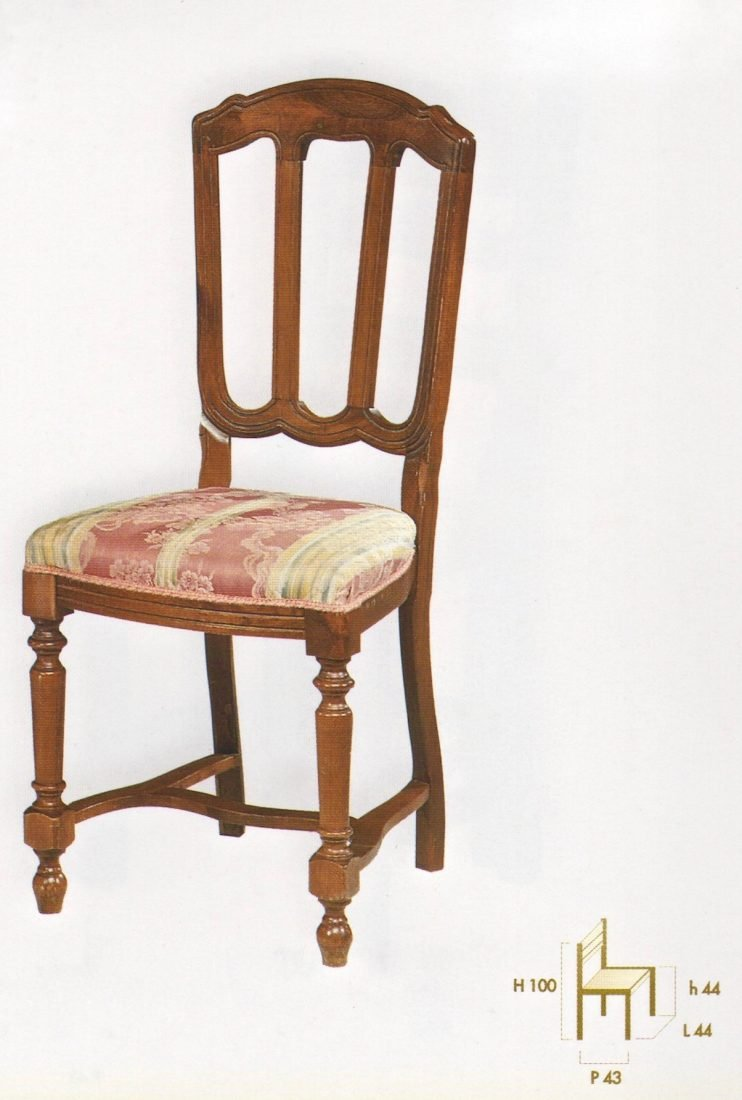 Sedia peonia antiquariato e mobili in stile chiaramonte for Outlet mobili verona