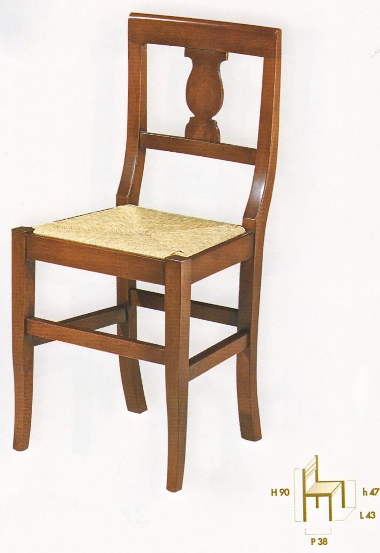 Sedia papavero antiquariato e mobili in stile for Outlet mobili verona