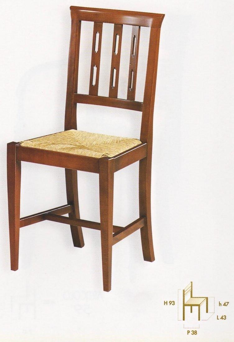 Sedia fresia antiquariato e mobili in stile chiaramonte for Outlet mobili verona