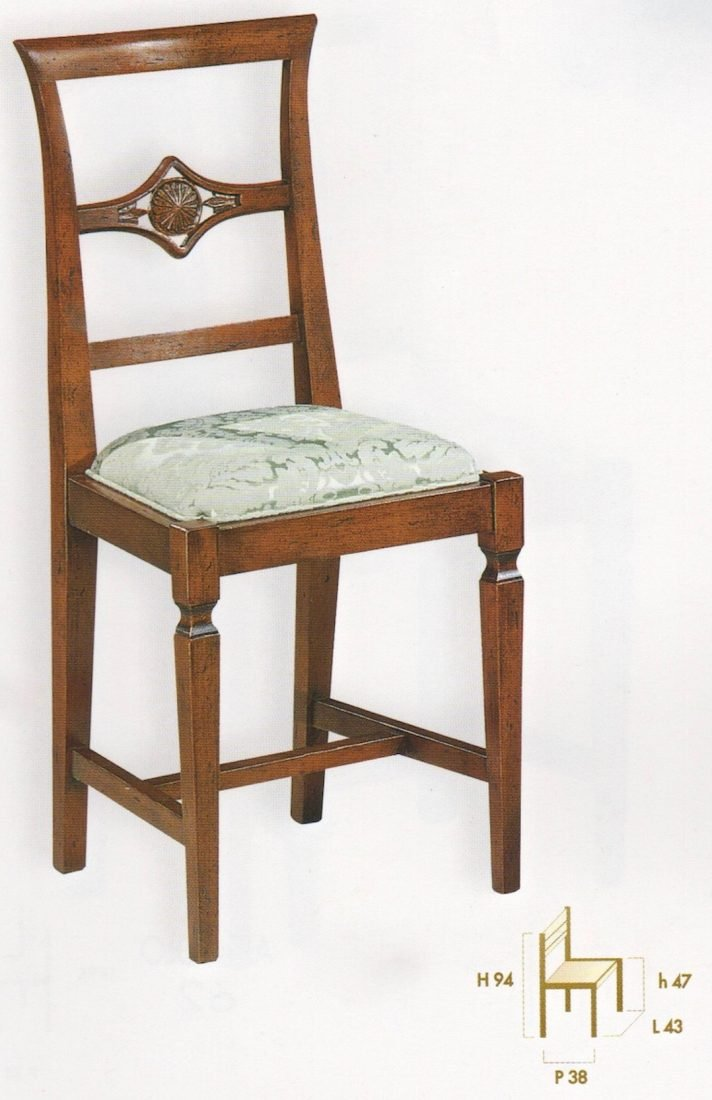 Sedia azalea antiquariato e mobili in stile chiaramonte for Outlet mobili verona