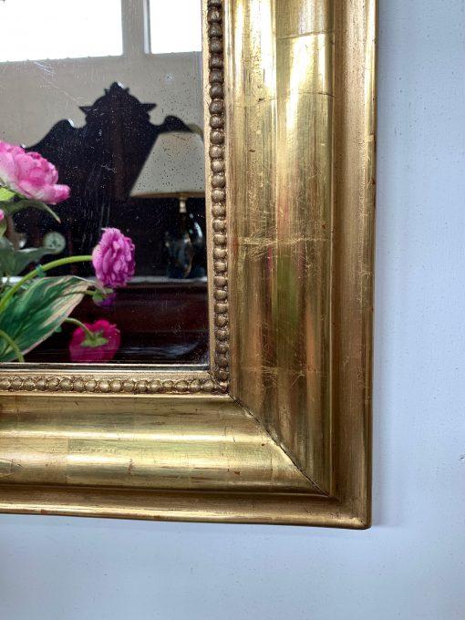 C740 - Specchiera originale in foglia oro zecchino