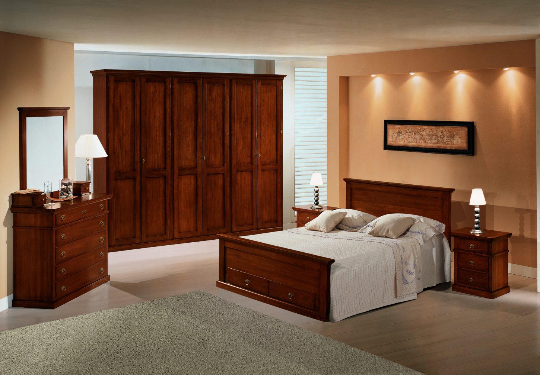 Camera da letto in stile modello arte povera mobili in for Camera letto mobili