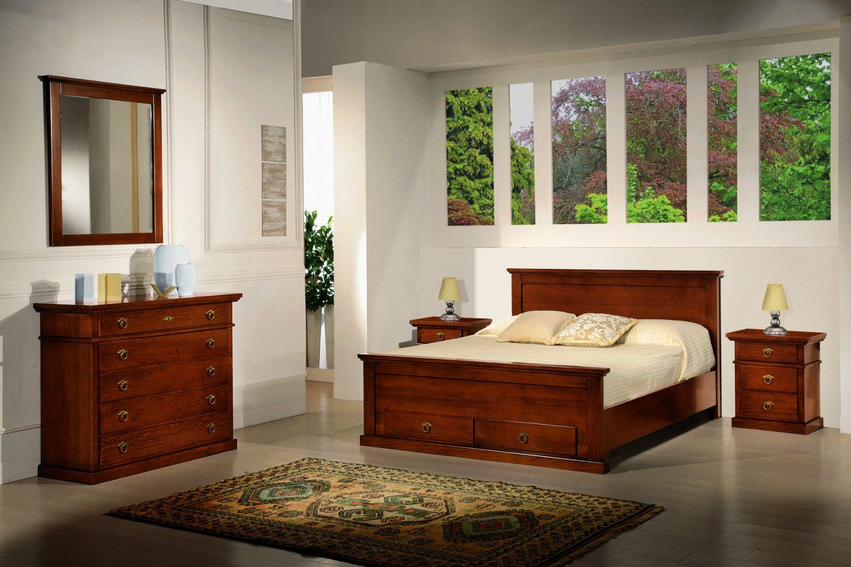 Camera da letto in stile, modello Arte Povera • Mobili in Stile ...