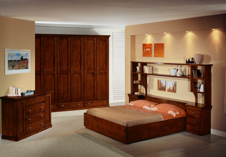 Camera da letto in stile modello arte povera mobili in - Foto camere da letto classiche ...
