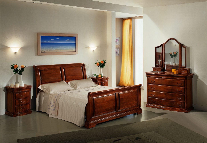 Camera da letto in stile modello francesca mobili in for Camera letto mobili