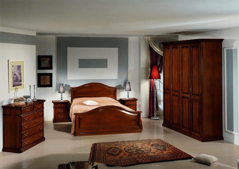 Camera da letto in stile, modello Francesca - Antiquariato e Mobili ...