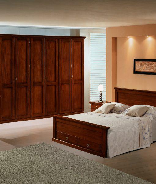 Camera da letto in stile, modello arte povera • linea elite ...