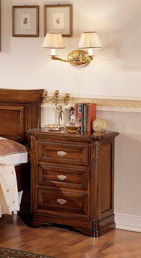 Comodino 3 cassetti mobili in stile linea la maison - La maison mobili ...