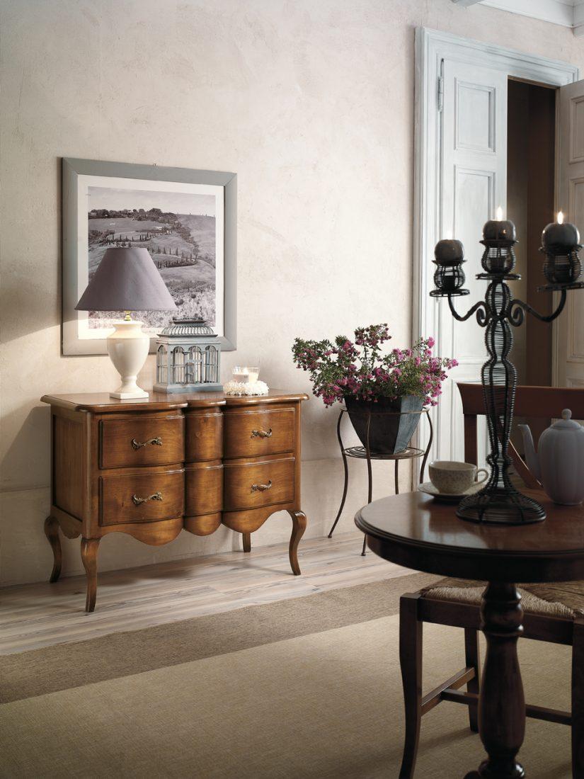Comoncino 2 cassetti mobili in stile linea la maison - La maison mobili ...