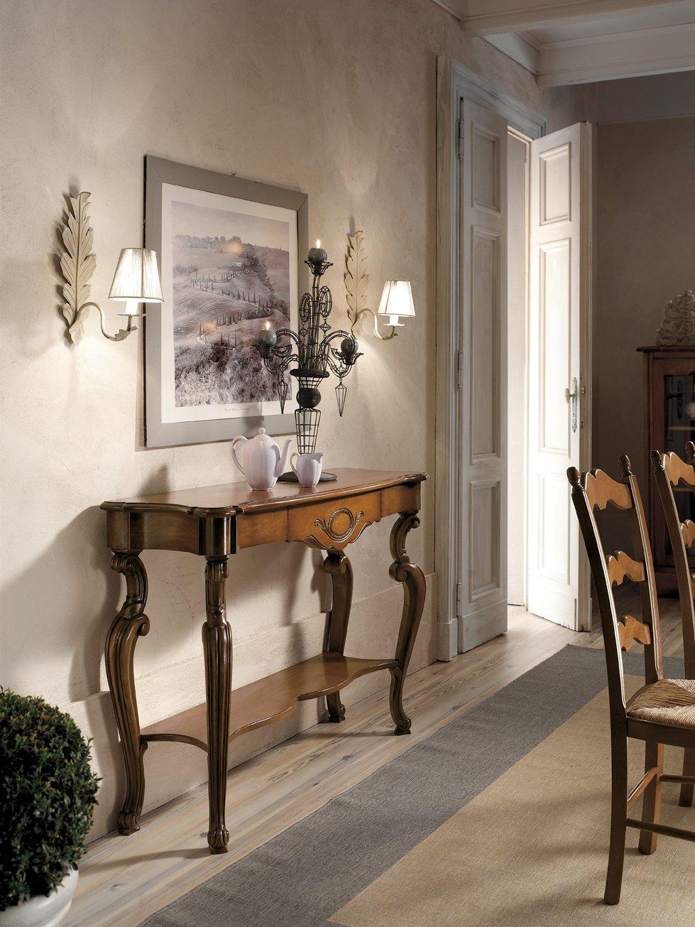 Consolle 1 cassetto mobili in stile linea la maison - La maison mobili ...