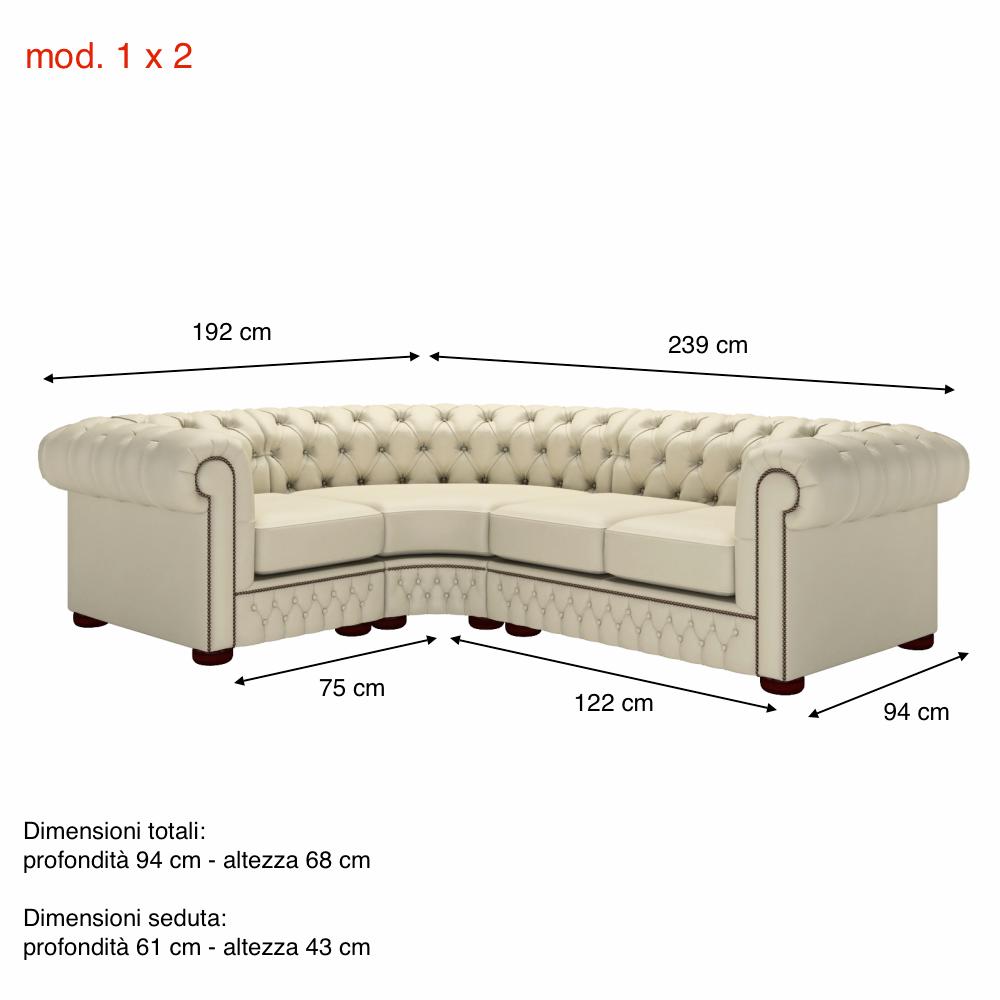 Corner sofa divani chesterfield e poltrone divani e for Poltrone e sofa contatti