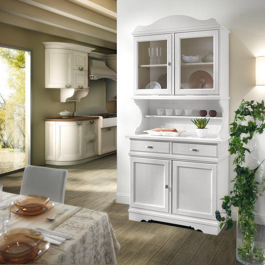 Credenza con alzata mobili in stile linea la maison - Mobili stile country ...
