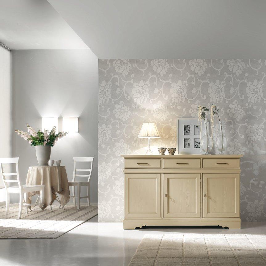 Credenza laccata mobili in stile linea la maison - La maison mobili ...