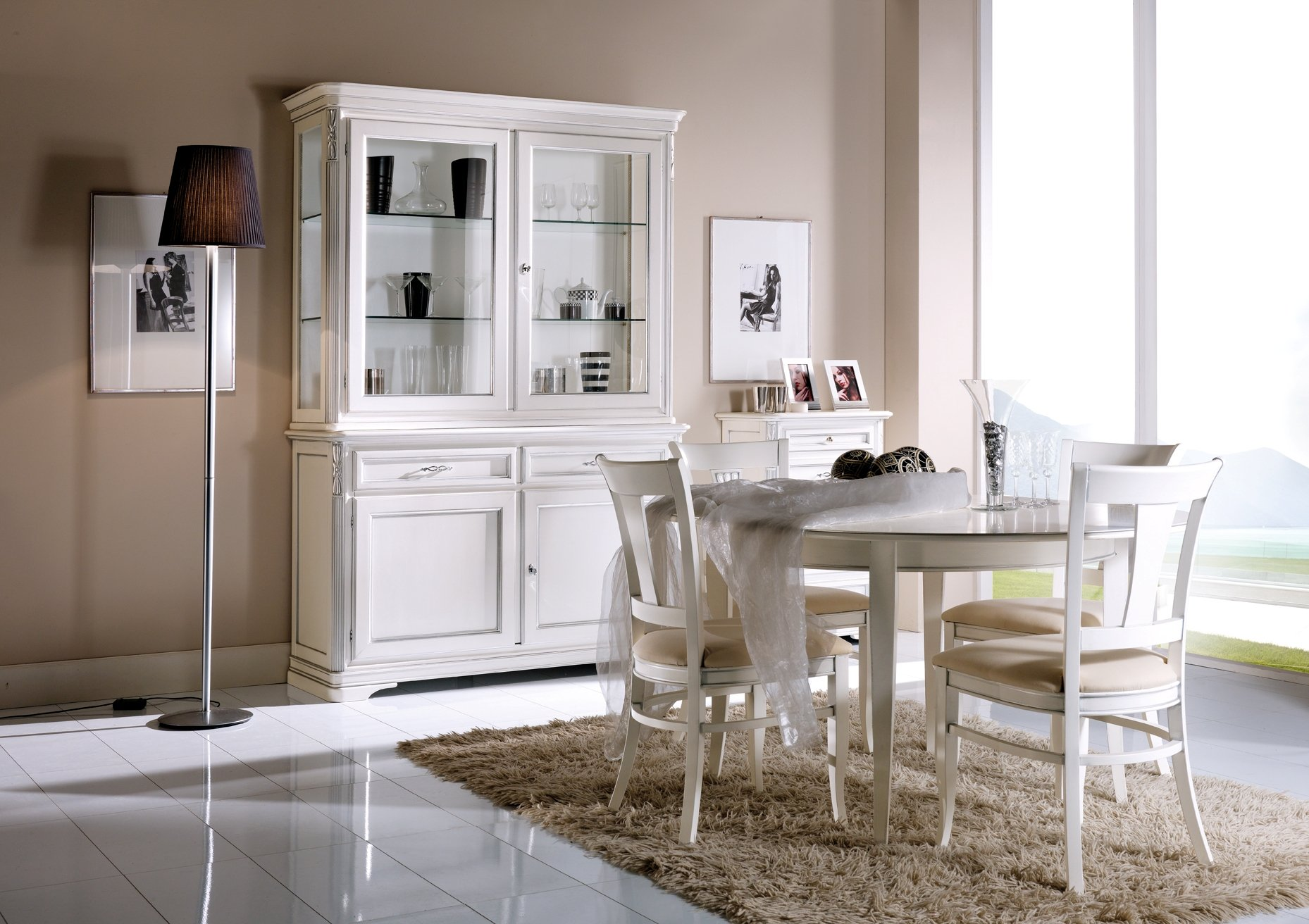 Cristalliera mobili in stile linea la maison - La maison mobili ...