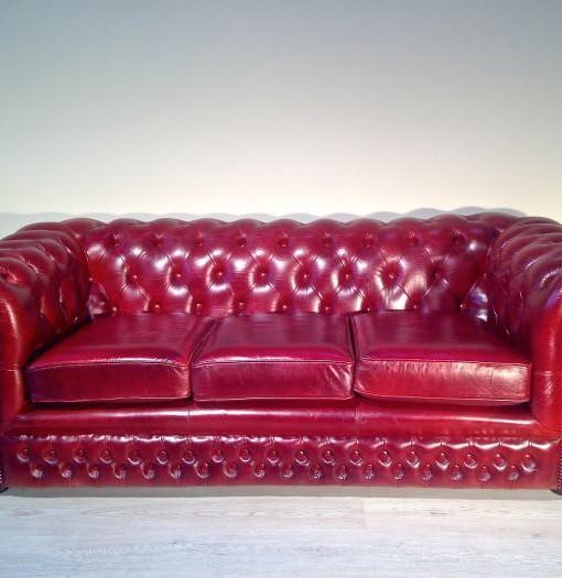 Divano chester originale inglese in pelle divani chester - Divano in inglese ...