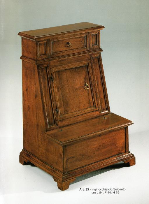 Inginocchiatoio stile 39 600 in olmo vecchio mobili in for Cabine vecchio stile