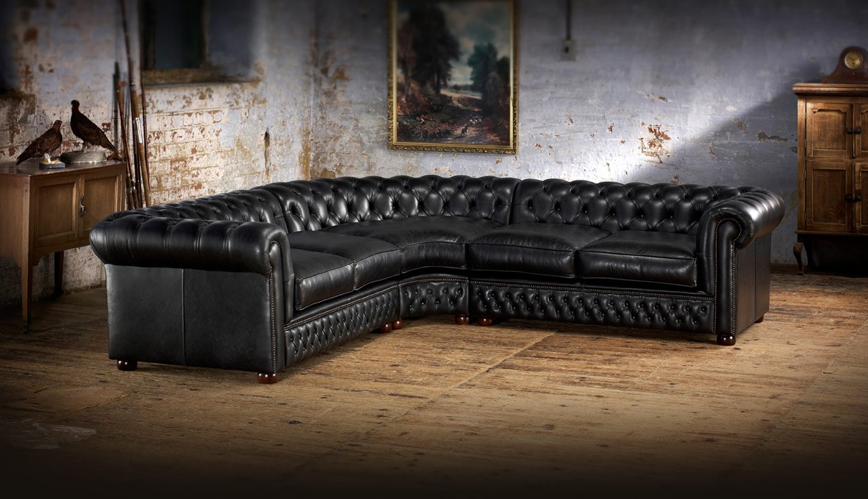 Corner sofa divani chesterfield e poltrone divani e - Poltrone e sofa divano angolare ...