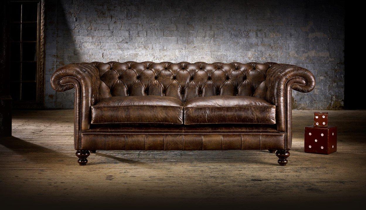 Rochester divani chesterfield e poltrone divani e - Divano stile inglese ...