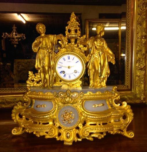 Orologio originale dorato