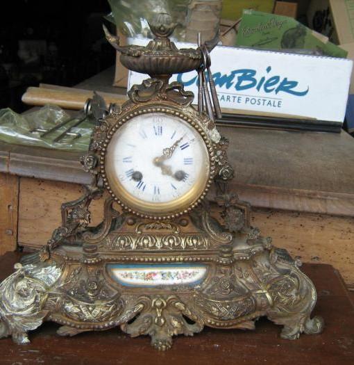 Orologio originale in antimonio