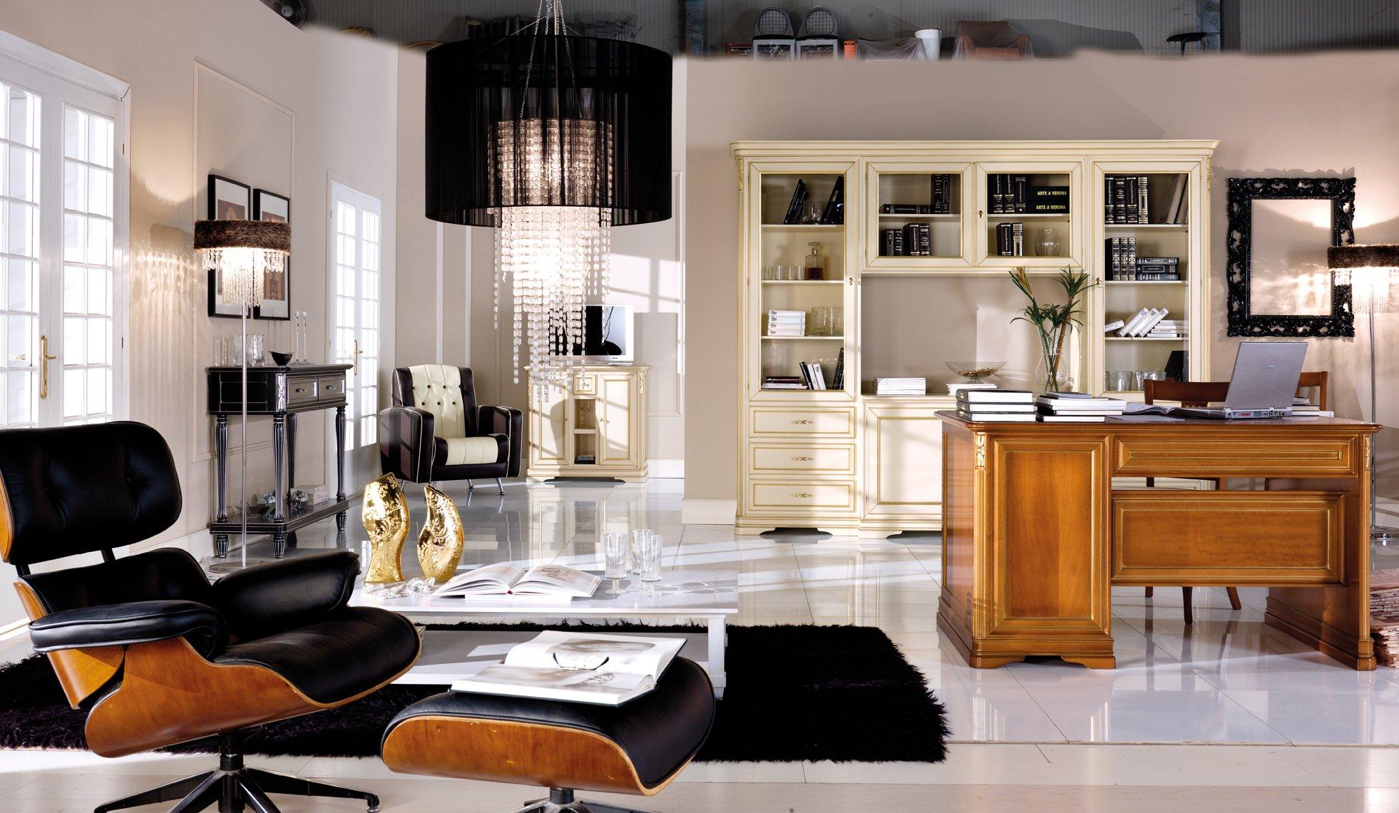 Scrivania 6 cassetti mobili in stile linea la maison - La maison mobili ...