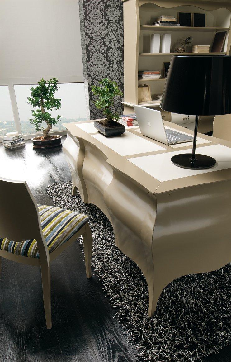Scrivania sagomata mobili in stile linea la maison - La maison mobili ...