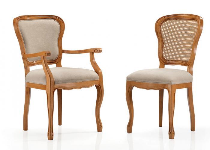 Sedia elvira con schienale in paglia di vienna mobili in stile linea elite - Sedia thonet originale ...