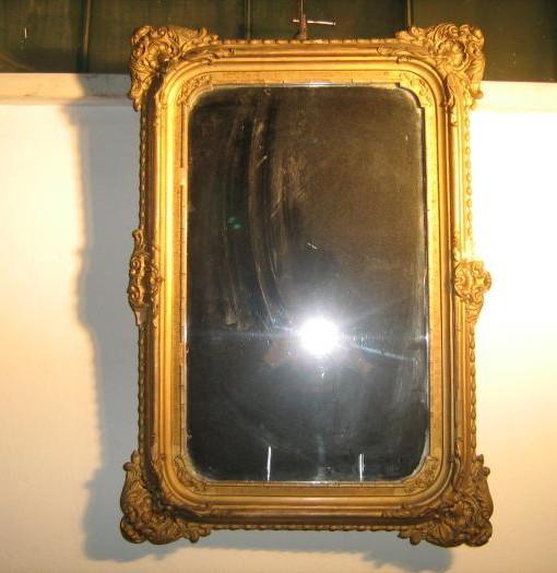 Specchiera originale in foglia oro