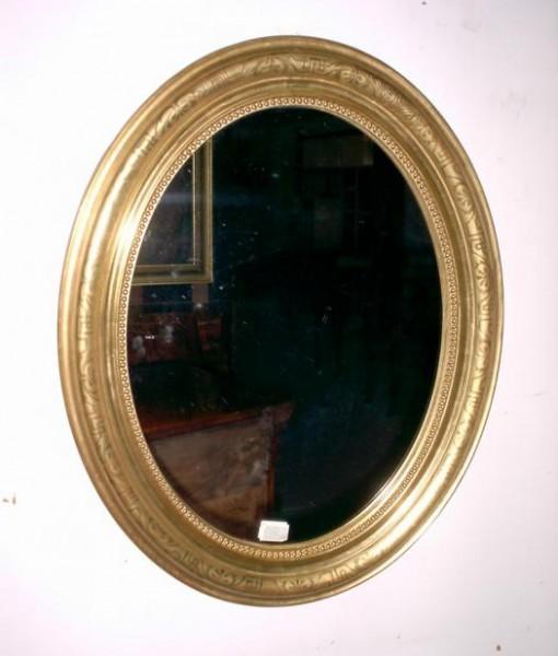 Specchiera originale in foglia oro zecchino