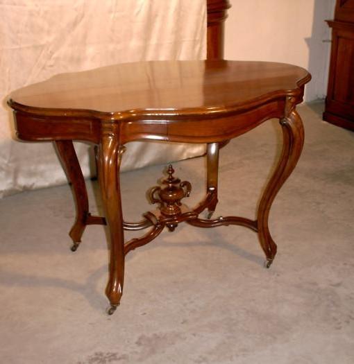 Tavolino originale in mogano