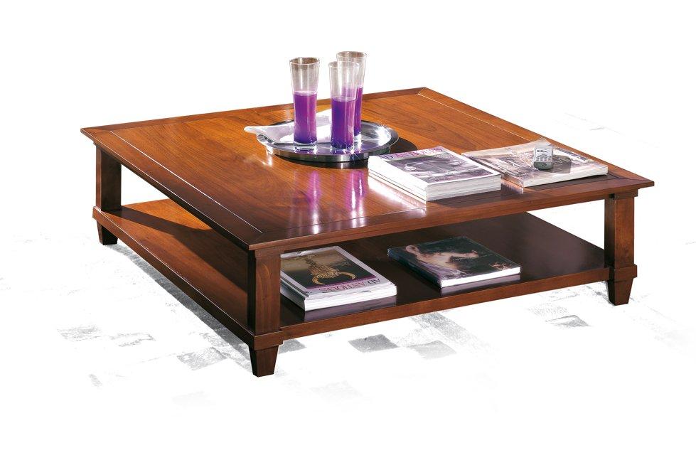 Tavolino quadrato da salotto antiquariato e mobili in for Mobili bassi da salotto