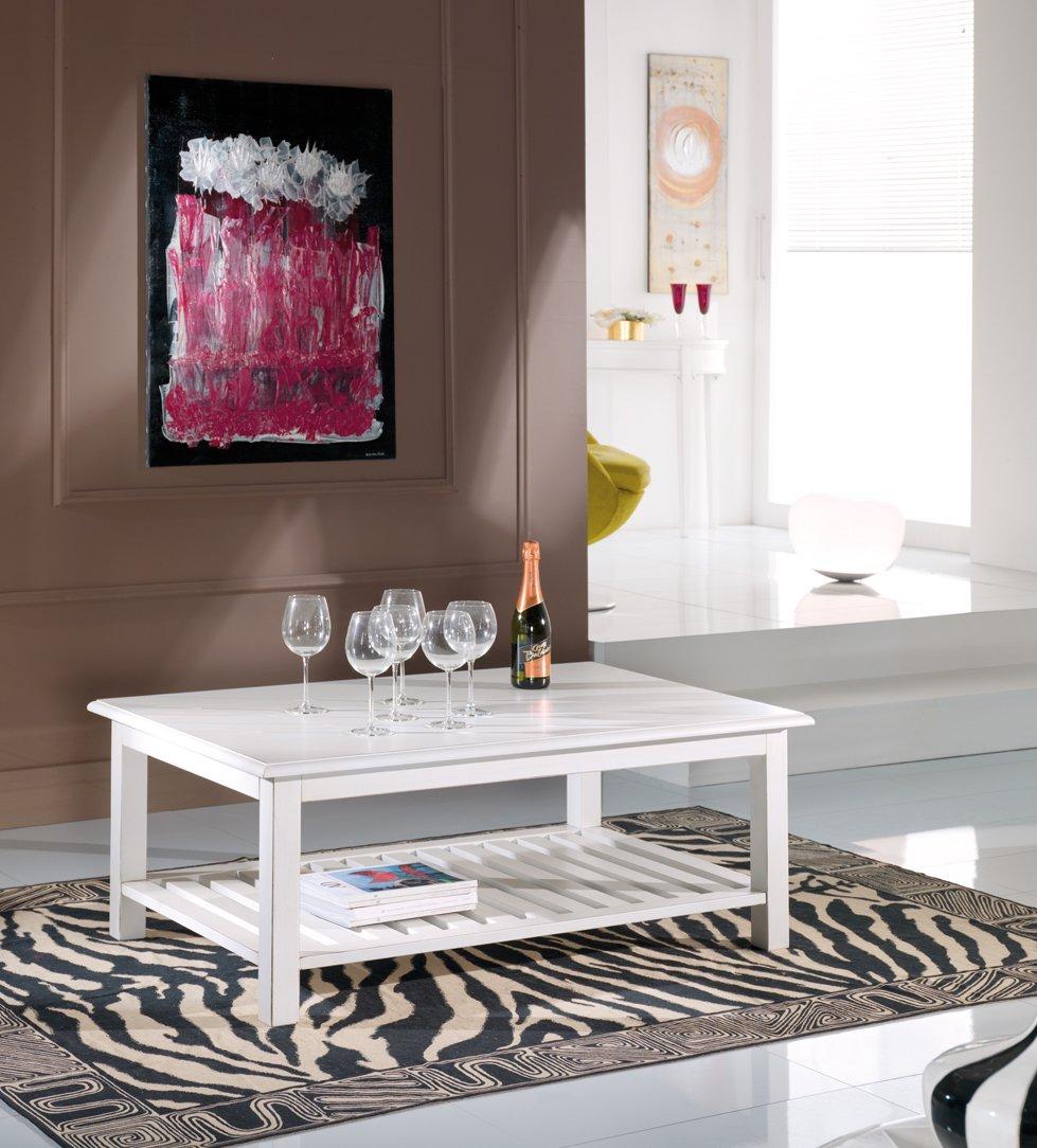 Tavolino rettangolare da salotto mobili in stile linea - La maison mobili ...