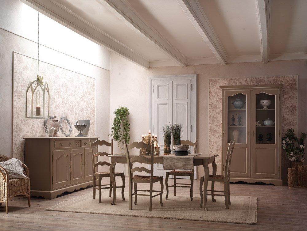 Tavolo allungabile mobili in stile linea la maison for Arredamento soggiorno stile provenzale