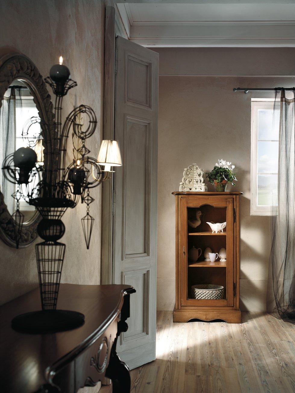 Vetrina 1 anta mobili in stile linea la maison for Mobili 1 anta