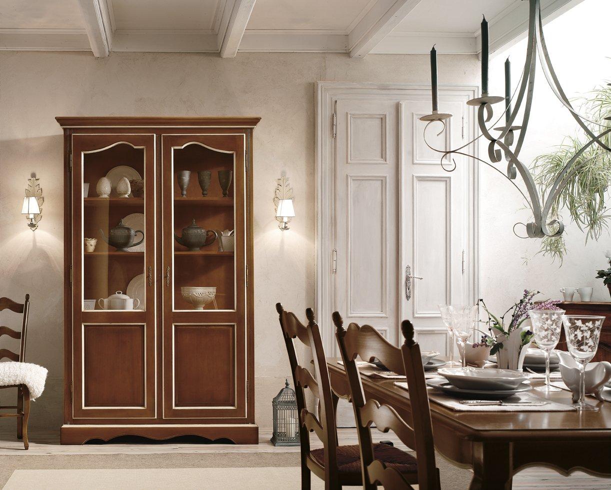 Vetrina 2 ante mobili in stile linea la maison - La maison mobili ...